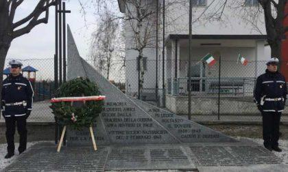 Commemorazione eccidio di San Benigno 2 febbraio 2019