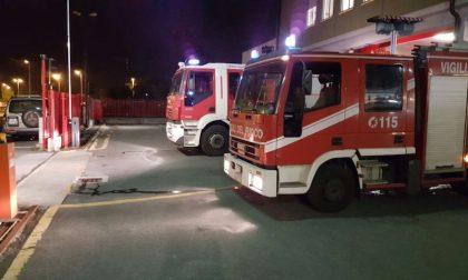 Nottata impegnativa per i vigili del fuoco di Saluzzo