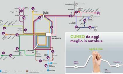 Cuneo da oggi meglio in autobus