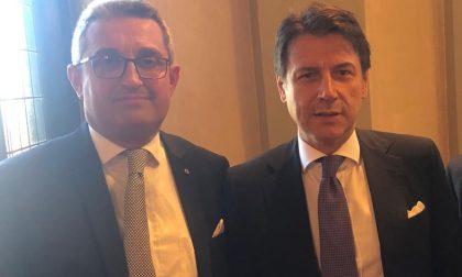 Il Premier Giuseppe Conte a Cuneo per la Cuneo-Asti