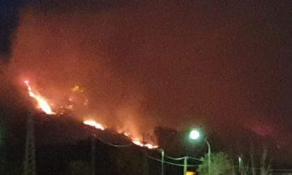 Incendi: è stata una lunga notte di lavoro