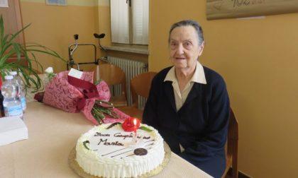 Maria Tuninetti, 102 anni con il sorriso