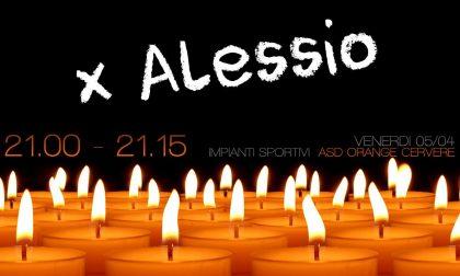 Alessio Scarzello: la veglia di addio dei compagni dell'Asd Orange Cervere