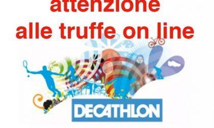 Falsi buoni Decathlon: truffe online