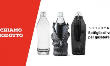 Richiamo prodotto: bottiglie di vetro per il gasatore Sodastar di Aldi