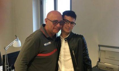 Saluzzo: a due anni dall'incidente torna per ringraziare chi lo ha salvato FOTO