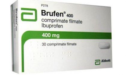 Attenzione: lotti di antinfiammatorio Brufen ritirati dal commercio