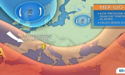 Meteo in Piemonte: tempo stabile ma da giovedì nuovi rovesci