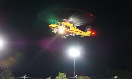 Atterraggio notturno per l'elisoccorso a Limone Piemonte e due nuove rotte
