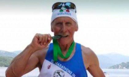 Addio a Carlo Rosa il campione delle maratone