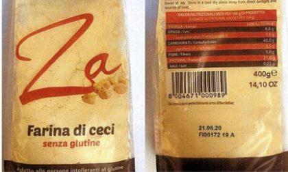 Infestanti nella farina di ceci e allergeni nel cremoso alla soia: richiamati