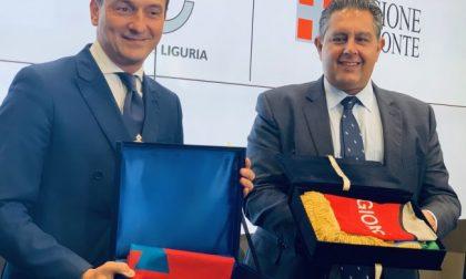 """Bilaterale Liguria Piemonte, Toti e Cirio: """"Serve grande mobilitazione sulle infrastrutture"""""""