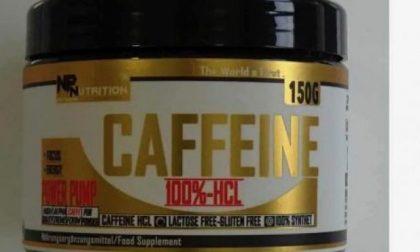 """""""Pura caffeina New Pharma Nutrition"""" integratore tossico: è allarme"""