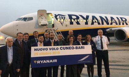 Cuneo-Bari, il collegamento aereo è operativo da Levaldigi