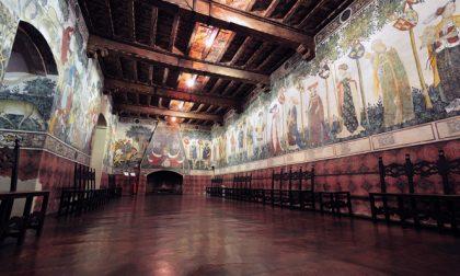 Halloween al Castello della Manta di Cuneo, la festa nella sua scenografia ideale