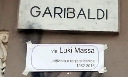 Blitz a Torino: sulle targhe delle strade i nomi di attiviste lesbiche