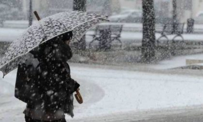 Meteo: nevicate in arrivo anche a bassa quota