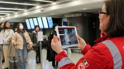 Aeroporti piemontesi, sorveglianza sanitaria per i passeggeri in arrivo dalla Cina