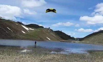 Il kite surf? Si fa in montagna a 2mila metri d'altezza VIDEO