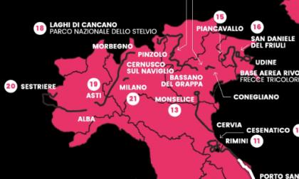 """Giro d'Italia 2020: Alba-Sestriere protagoniste con il """"tappone alpino"""""""