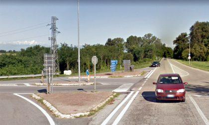 Scontro auto moto a Ceresola d'Alba: sul posto l'elisoccorso