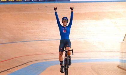Elisa Balsamo, la medaglia d'oro Cuneese agli Europei di ciclismo su pista