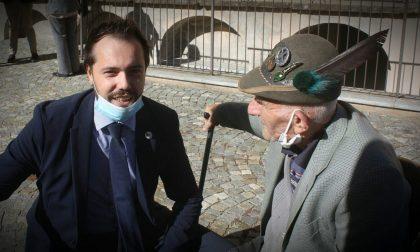 """Compie 101 anni Giuseppe Bertano, alpino di Carrù reduce di Russia. Il sindaco: """"testimone di umanità e coraggio"""""""