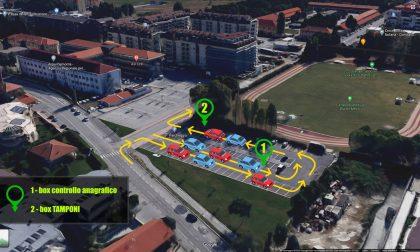 Nuovo hot-spot per tamponi rapidi a Cuneo