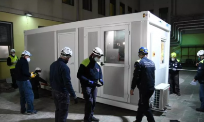 Quattro container all'ospedale Santa Croce e Carle di Cuneo per potenziare il pronto soccorso