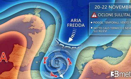 Meteo: oggi il termometro tocca i 16°C, nel weekend rischio neve oltre quota 1500 mt