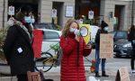 Studenti contro la Dad, le immagini del sit-in in piazza a Cuneo