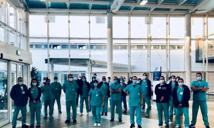 Primo giorno all'ospedale di Verduno per la delegazione di medici israeliani