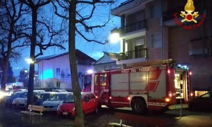 Evacuato intero condominio in via Medaglie d'Oro per principio d'incendio