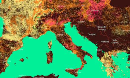 Provincia di Cuneo, in 50 anni le temperature si sono alzate di quasi due gradi
