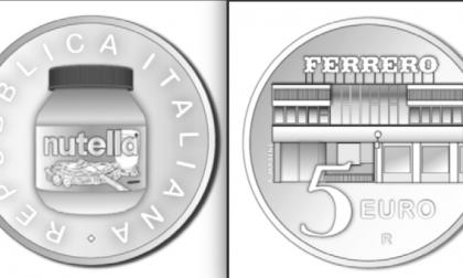 Nutella d'Argento, la moneta da 5 euro coniata dalla Zecca dello Stato