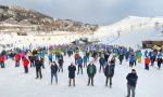 Immagini e video dalle stazioni sciistiche aderenti al flash mob contro la chiusura degli impianti