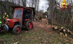 Colpito da un ramo in pieno volto mentre stava potando un albero: interviene l'elisoccorso