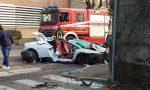 Le foto della supercar Lamborghini andata distrutta nell'incidente