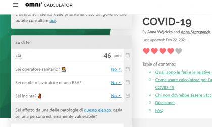 Calcola fra quanto tempo riceverai il vaccino Covid: prova la simulazione