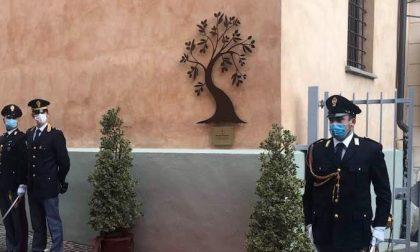 Targa dedicata a Giovanni Palatucci dalla Questura di Cuneo