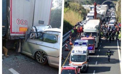 Morto il genero del sindaco di Ormea nell'incidente sull'A10 Genova-Savona