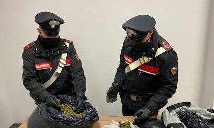 Da Barcellona a Demonte per portare un sacco della spazzatura… pieno di marijuana