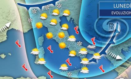 Gli ultimi giorni d'inverno sulla Granda tra basse temperature e... neve