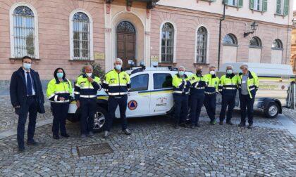 Diciotto nuovi volontari e un nuovo automezzo per la Protezione civile di Cuneo