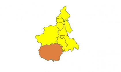 Piemonte zona gialla da lunedì, Cuneo resta zona arancione fino a giovedì