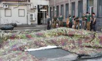 Smontata a Cuneo la tensostruttura militare che accoglieva pazienti Covid in attesa di ricovero