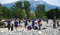 Plastic Free Cuneo, raccolte in tre ore oltre due tonnellate di rifiuti dal fiume Gesso