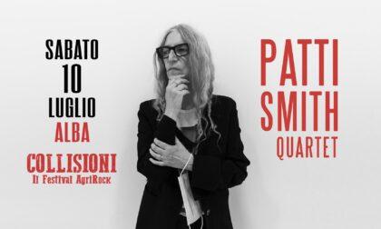 Patti Smith sarà in concerto al Collisioni Festival di Alba