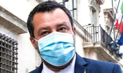 Salvini in tribunale a Cuneo per il processo per diffamazione contro De Benedetti