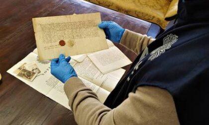 Recuperati 1800 documenti dell'archivio dei Savoia, nascosti da un frate in un'arciconfraternità di Bra